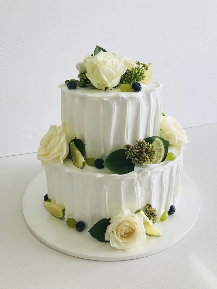 Торт Весільний - фото