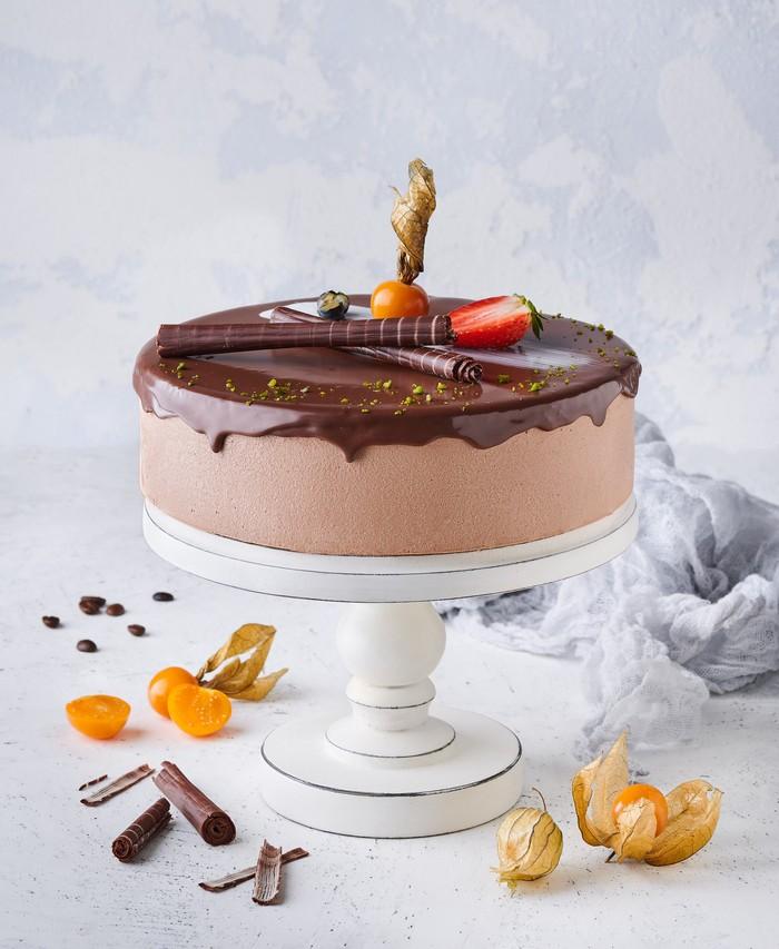 Чизкейк Шоколадный Банановый - фото