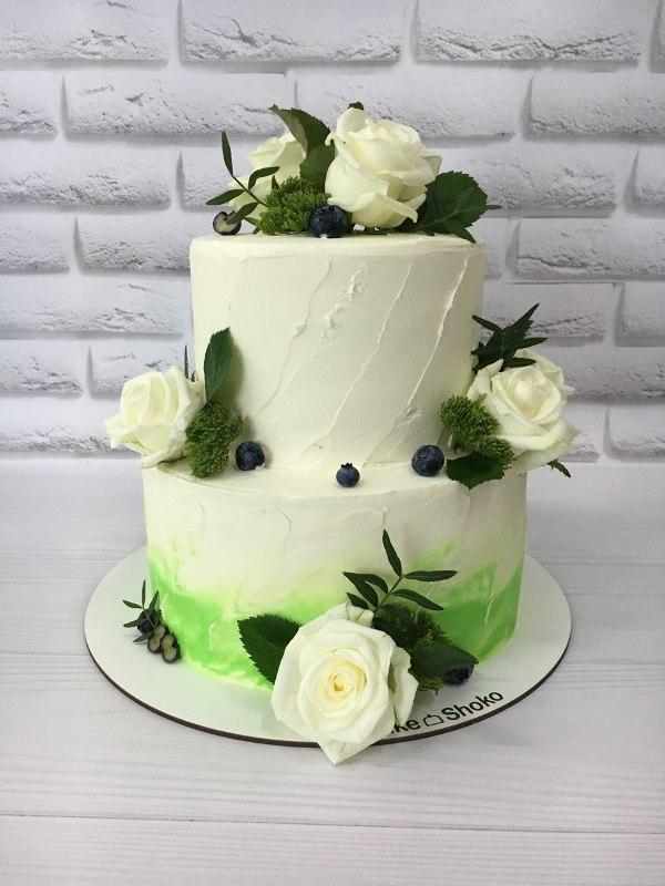 Торт Свадебный - фото