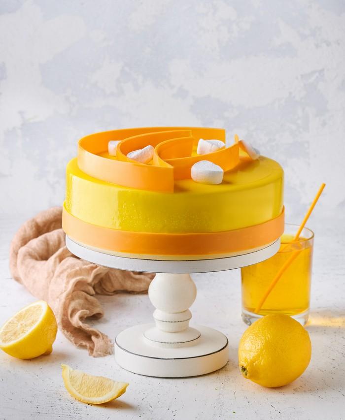 Торт Чери-Цитрон - фото