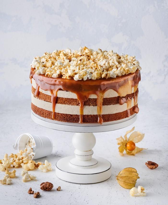 Торт Карамельно-Ореховый - фото