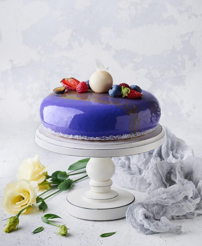 Торт Лавандовий Дует - фото