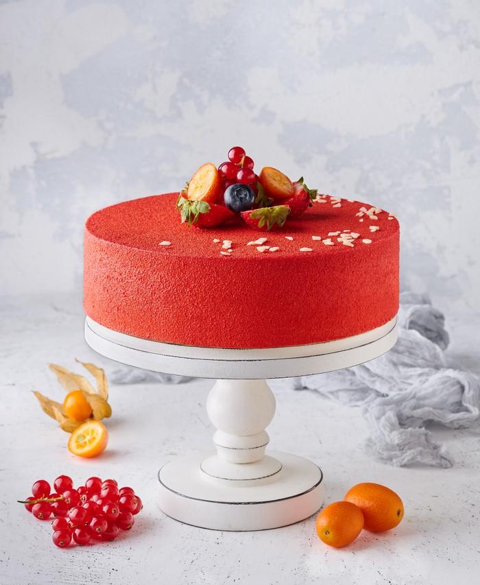 Торт Клубничная Нежность - фото