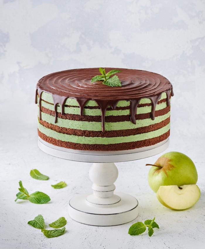 Торт Свіжа М'ята - фото