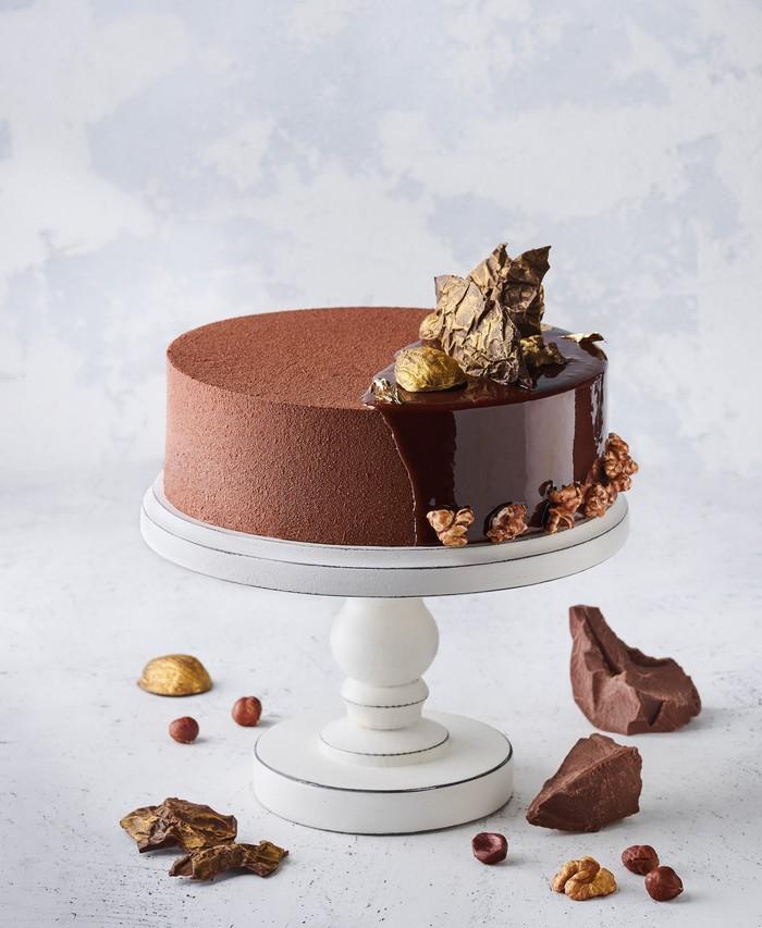 Торт Золотий Горіх - фото