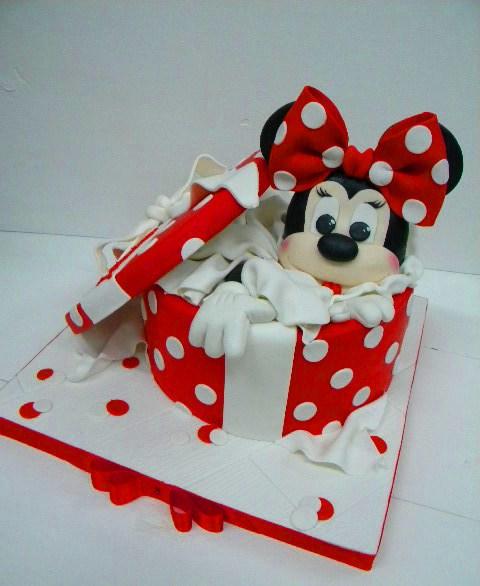 Торт Минни 3 - фото