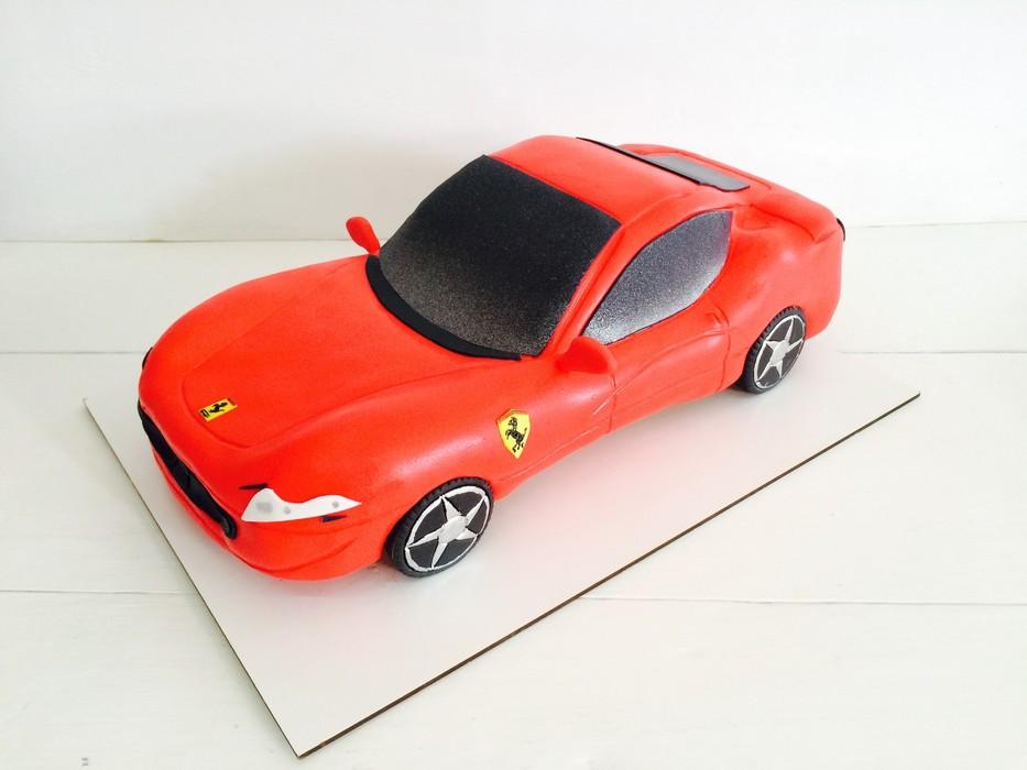 Торт Феррари 2 - фото