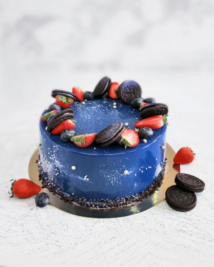 Торт Звездное Небо - фото