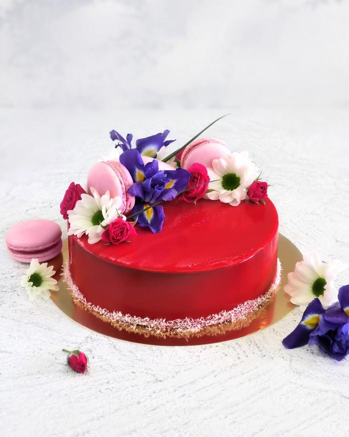 Торт Цветочний - фото