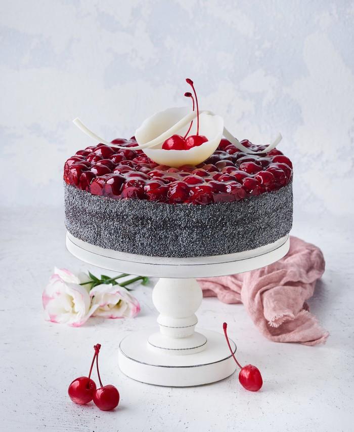 Торт Маковый С Вишней - фото