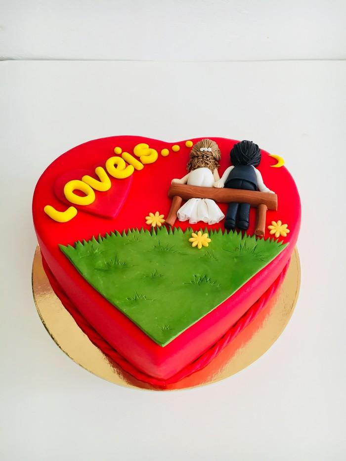 Торт Love Is… - фото