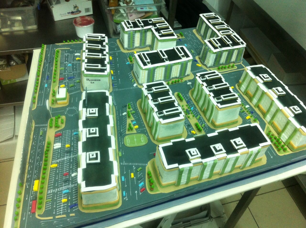 Корпоративний Торт 023 - фото