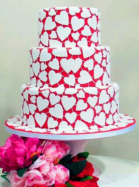 Торт Для Влюбленных 006 - фото