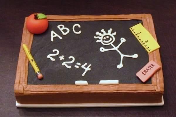 Торт Для Вчителя 11 - фото