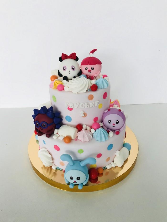Торт Малышарики - фото