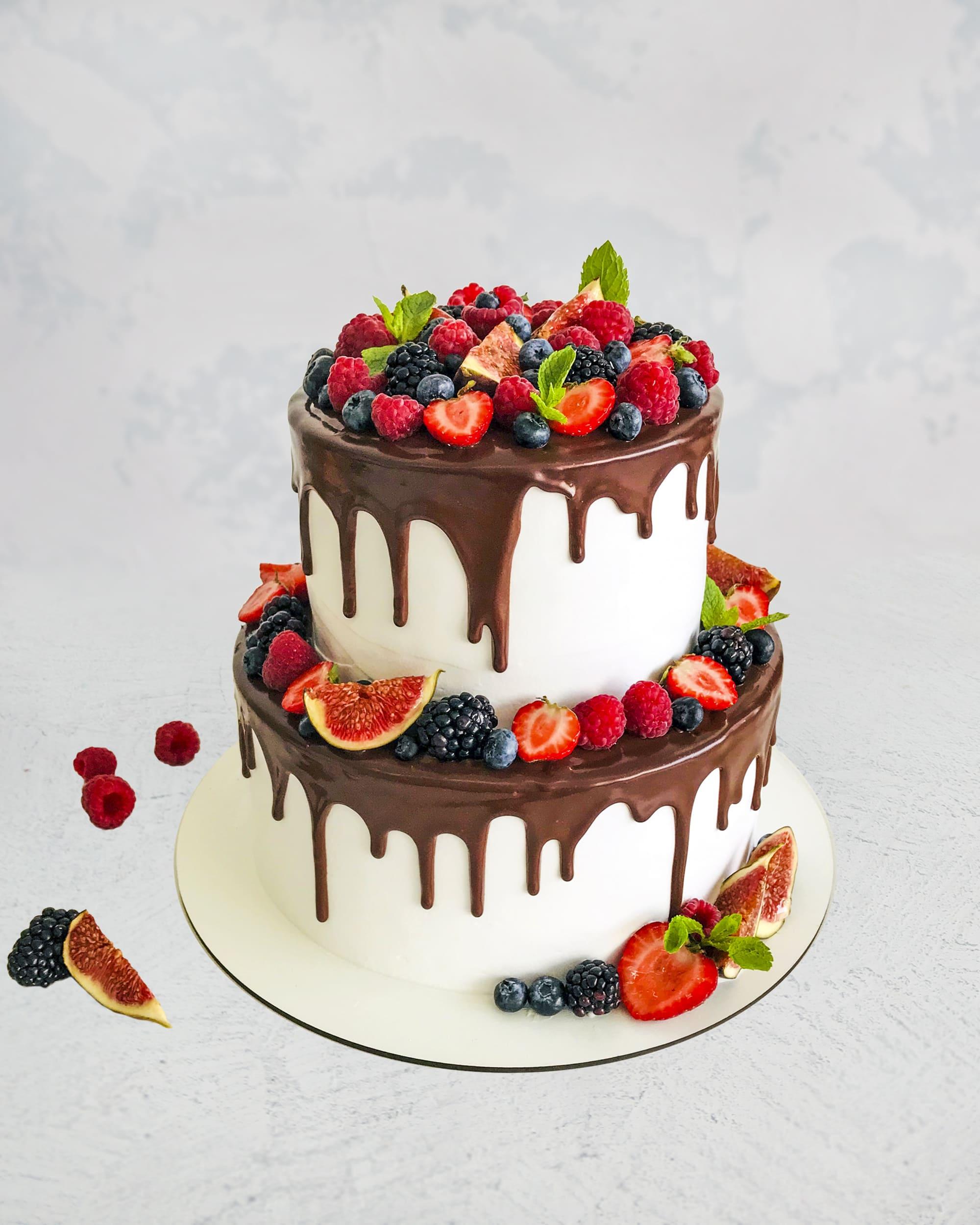 Торт Ягодное Лето - фото
