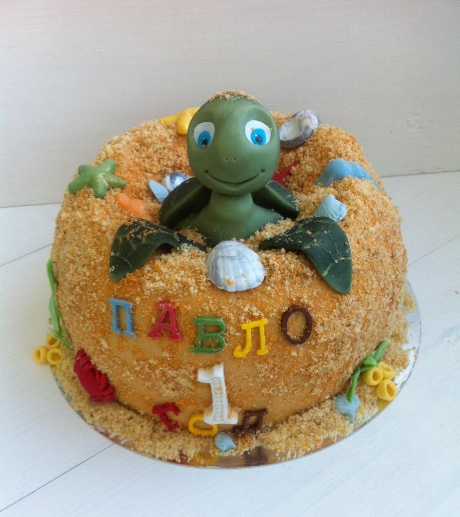Торт Шевели Ластами! - фото