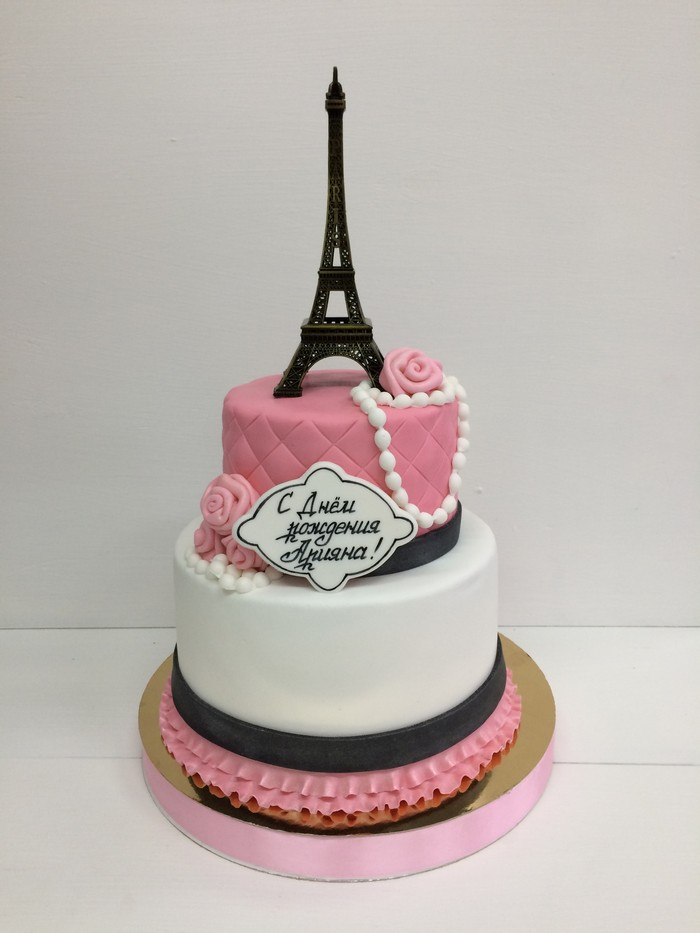 Торт Модница - фото