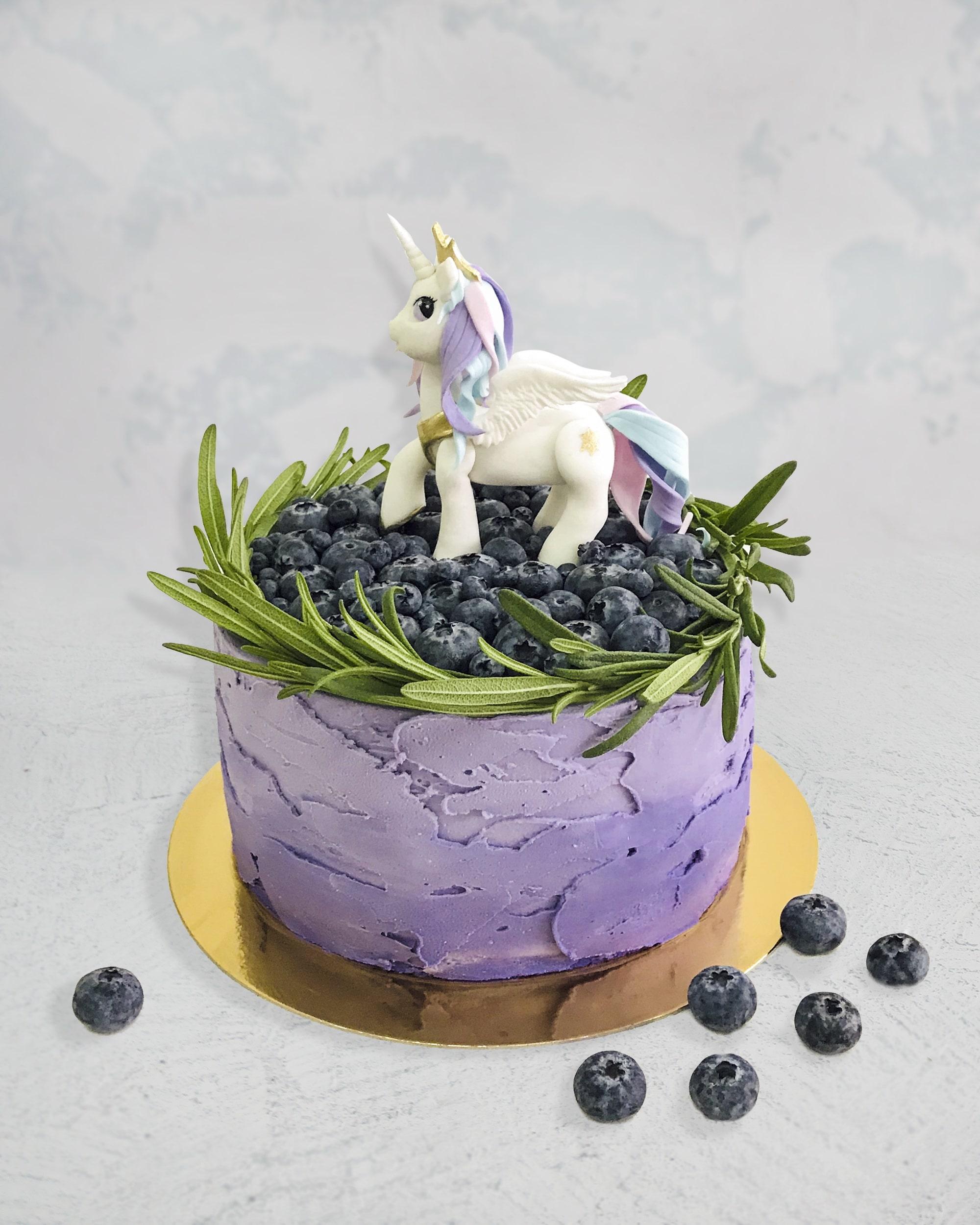 Торт Єдиноріг 2 - фото