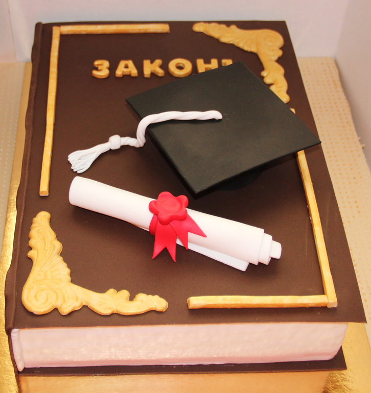 Торт Закон - фото