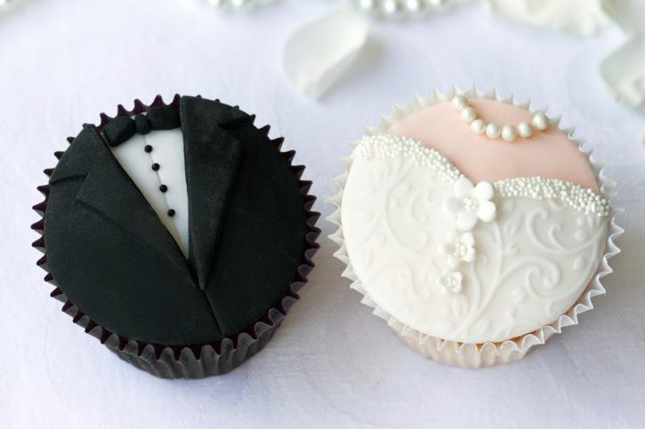 Капкейки Свадебные 3 - фото