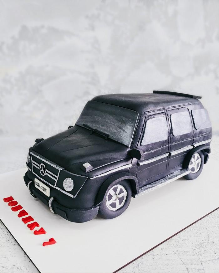 Торт Мерседес 2 - фото