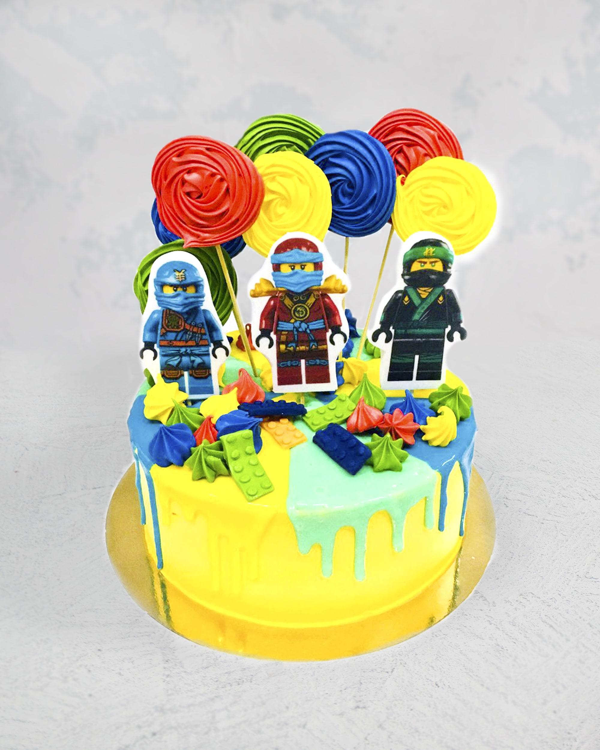 Торт Ниндзяго 2 - фото