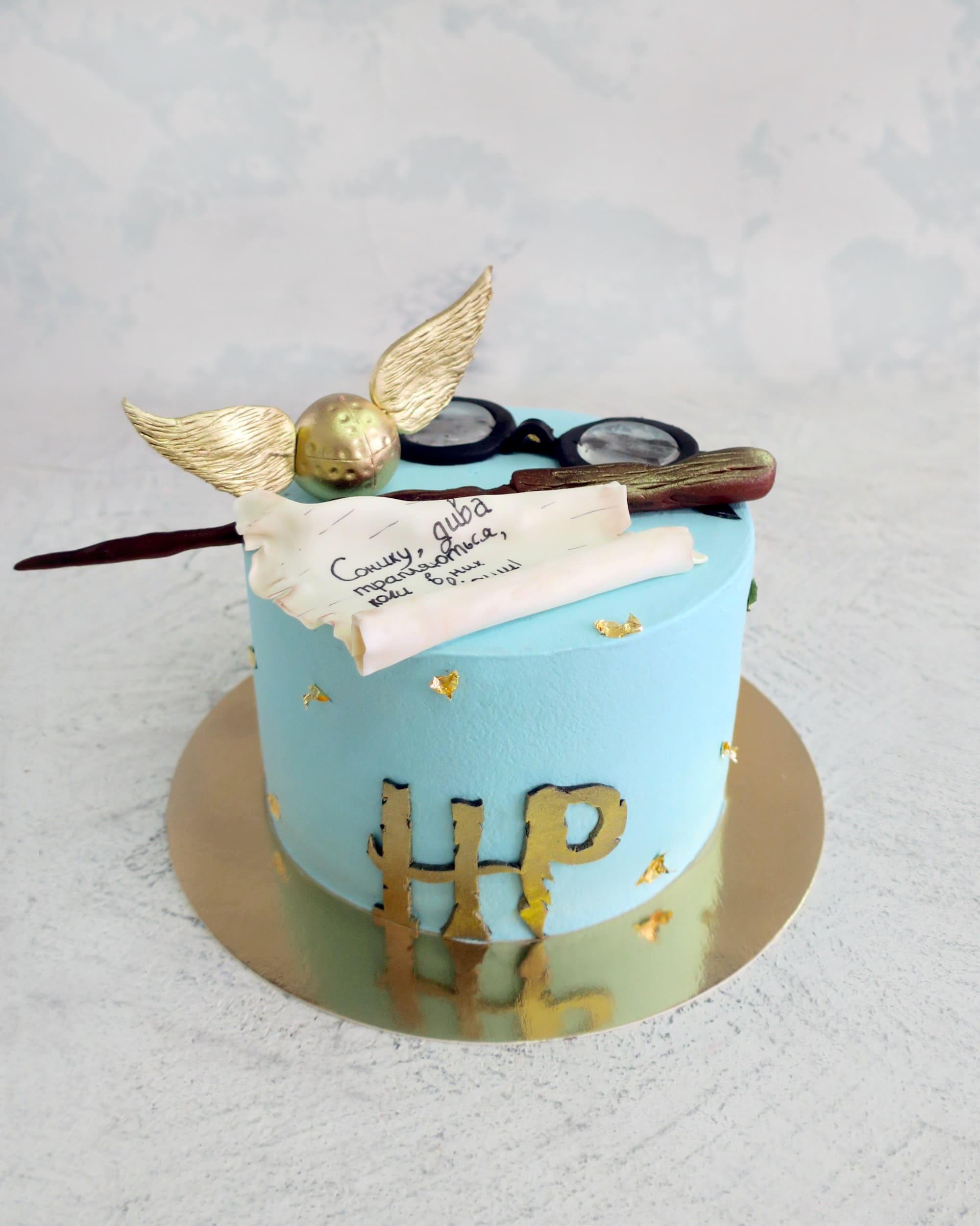 Торт Гарри Поттер 2 - фото