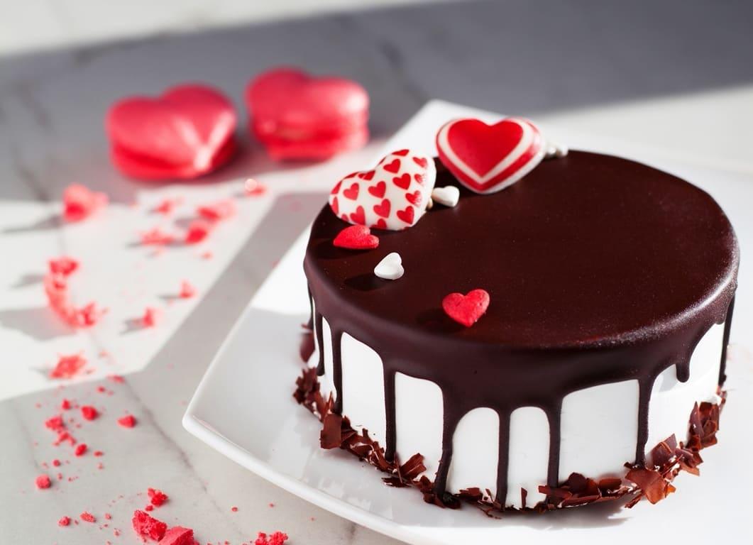 Торт для закоханих 014 - фото