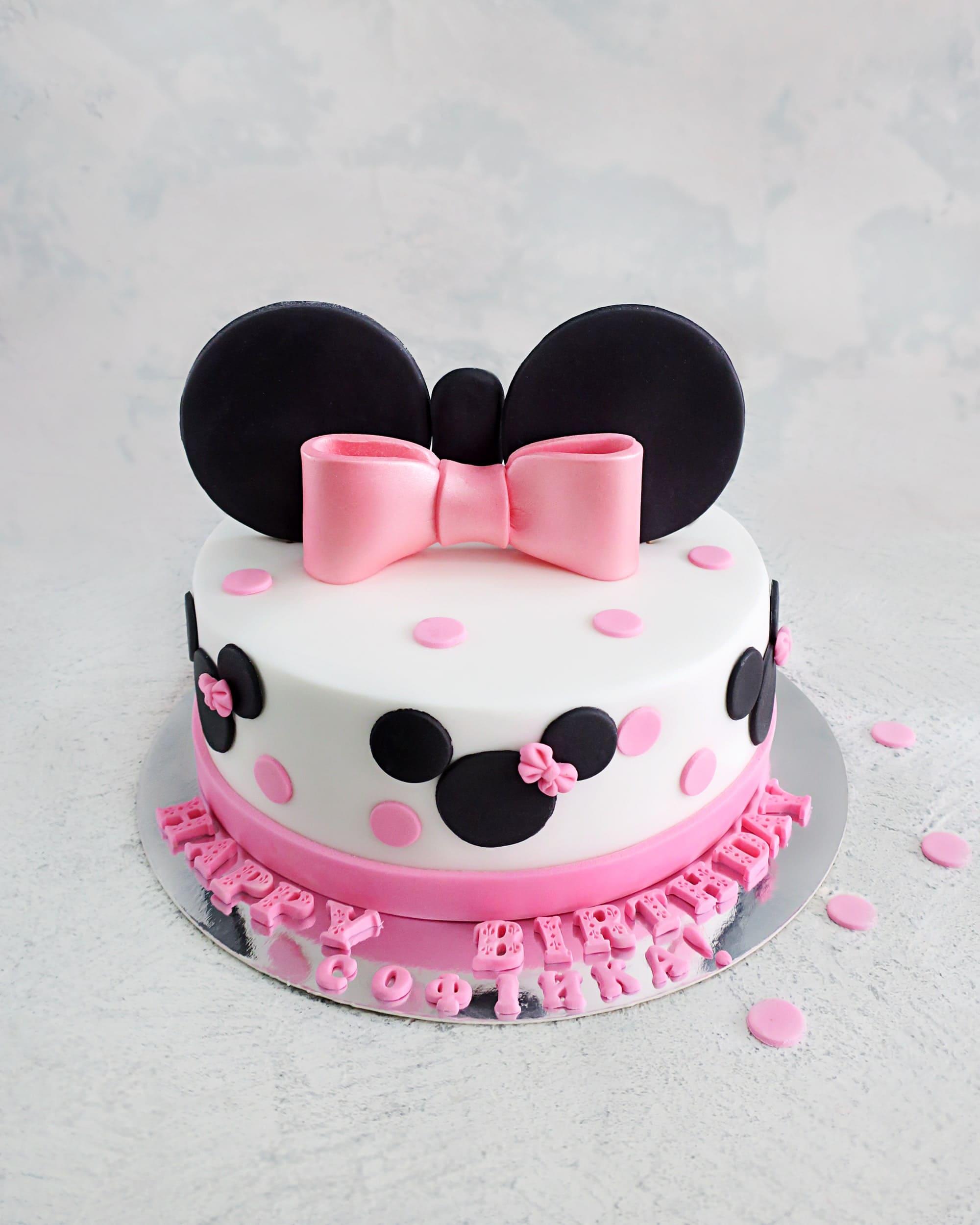 Торт Минни 2 - фото