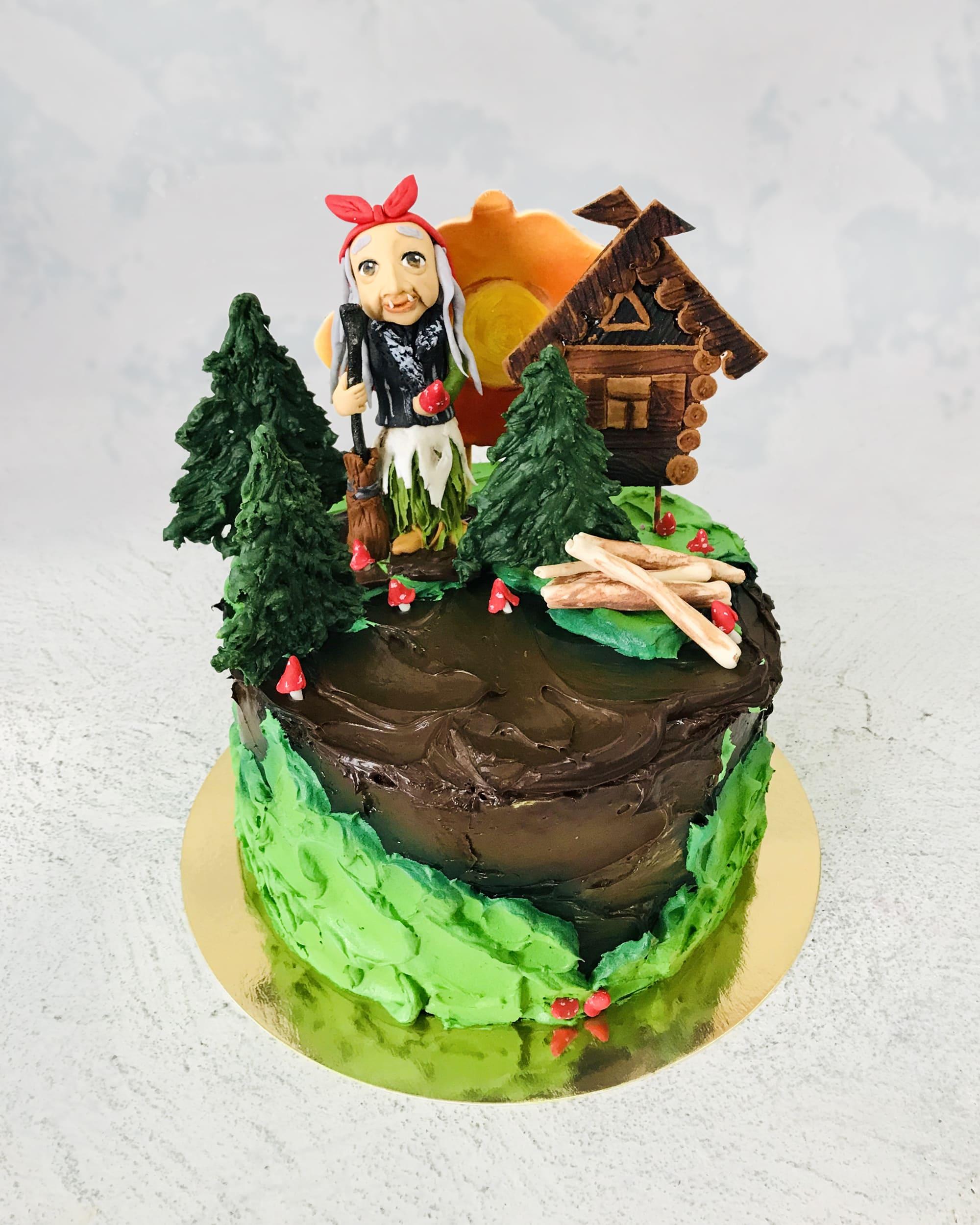 Торт Казка - фото