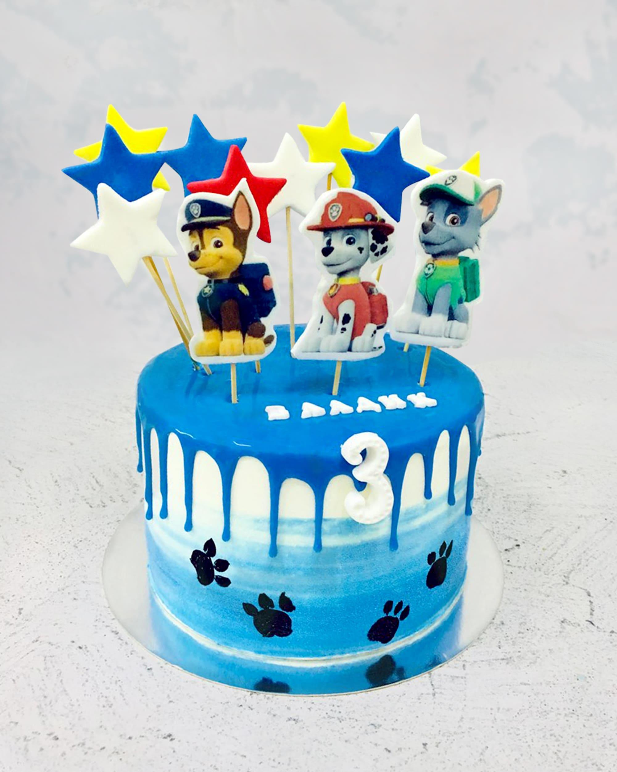 Торт Щенячий патруль - фото