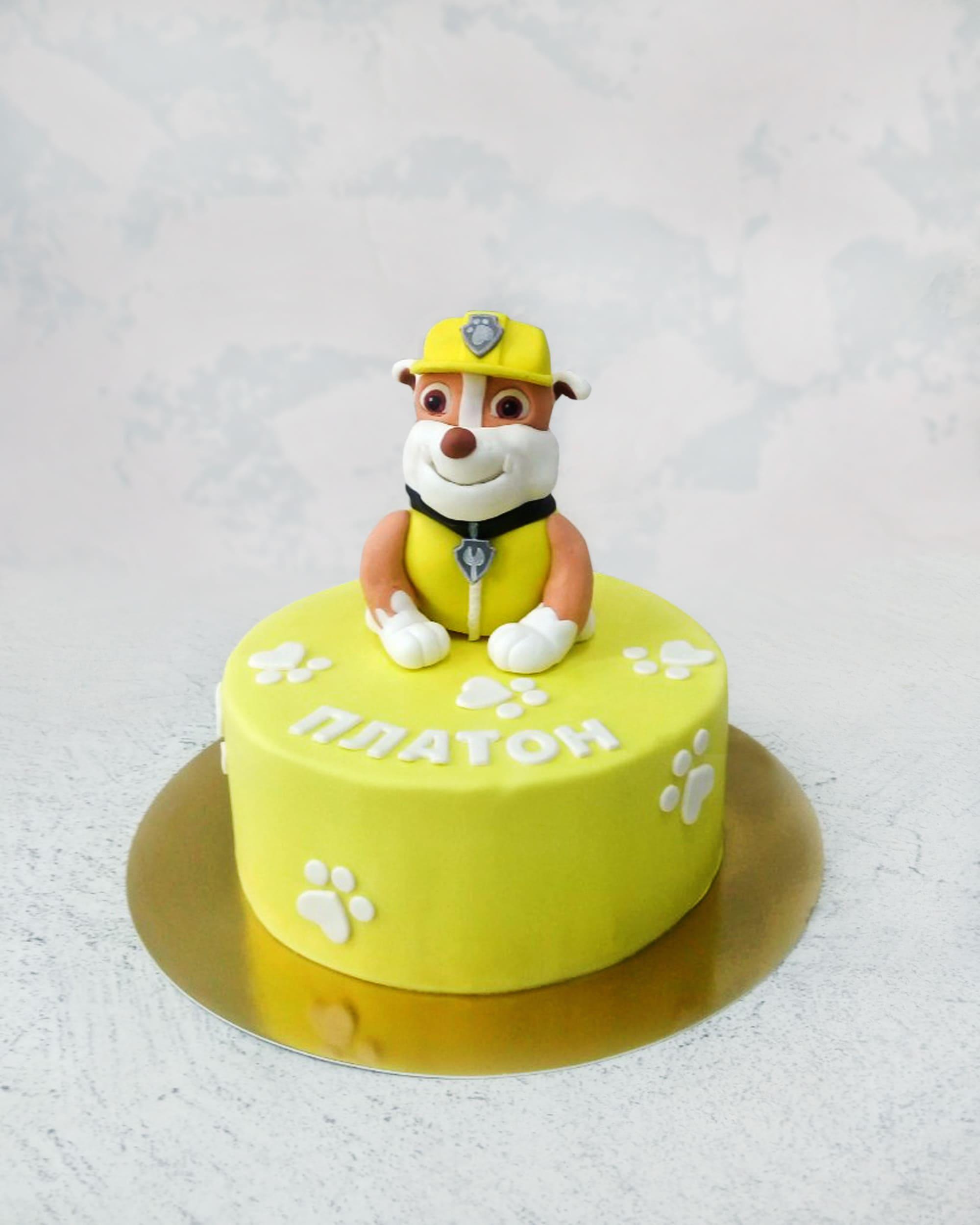 Торт  Щенячий патруль 2 - фото