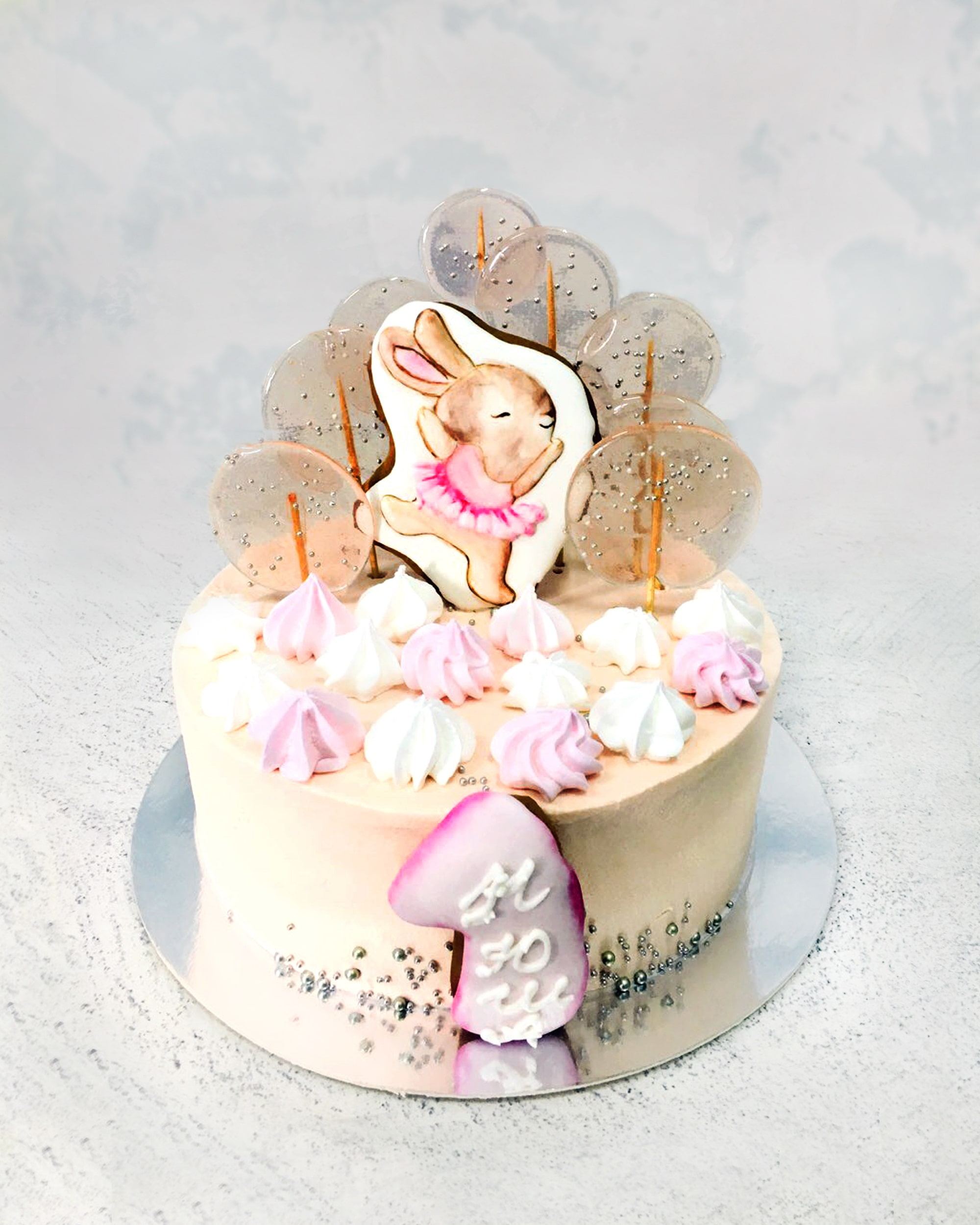 Торт зайченя - фото