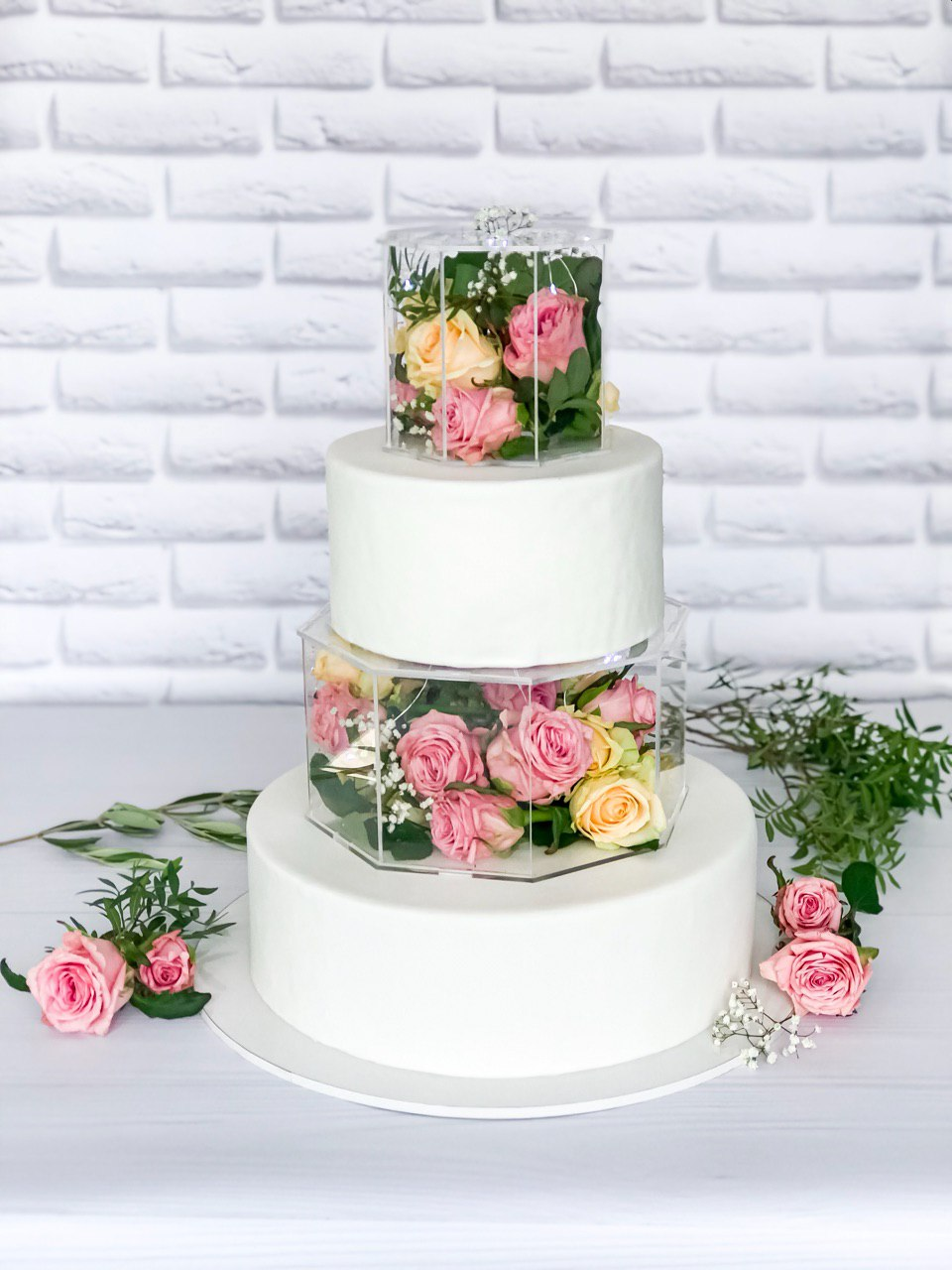 Торт Квіткова ніжність - фото