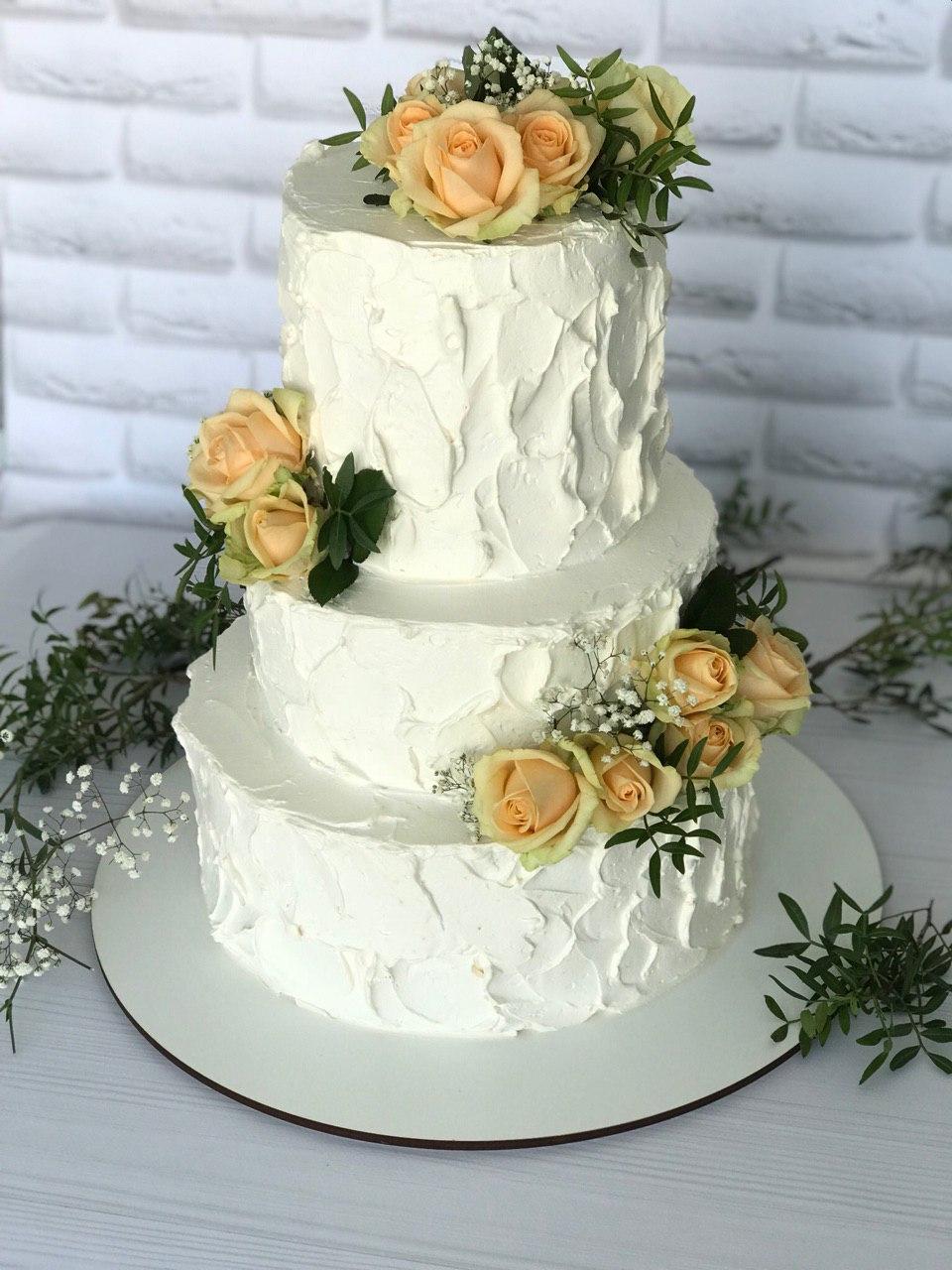 Торт Розы - фото