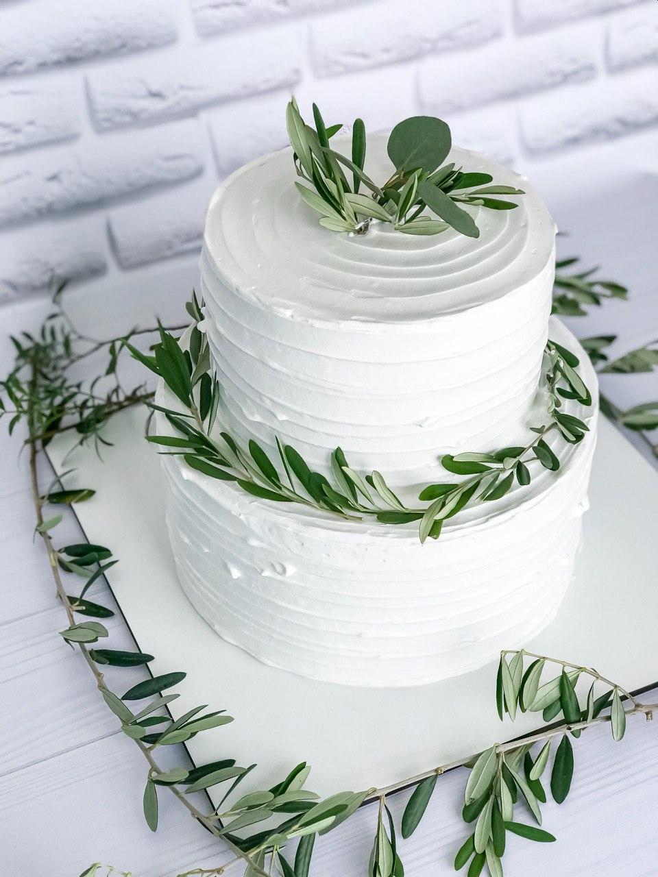 Торт Зелень - фото