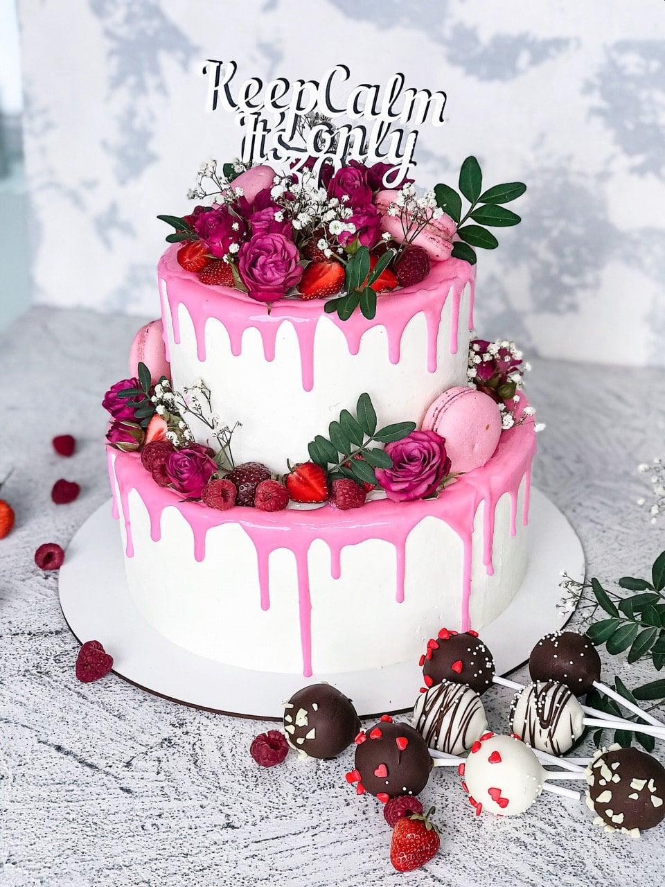 Торт Солодкий Ювілей - фото