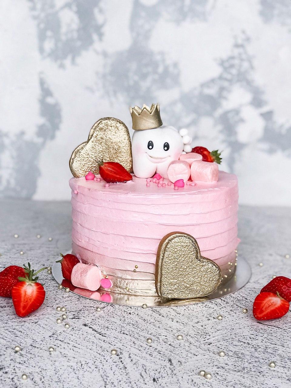 Торт Зубик - фото