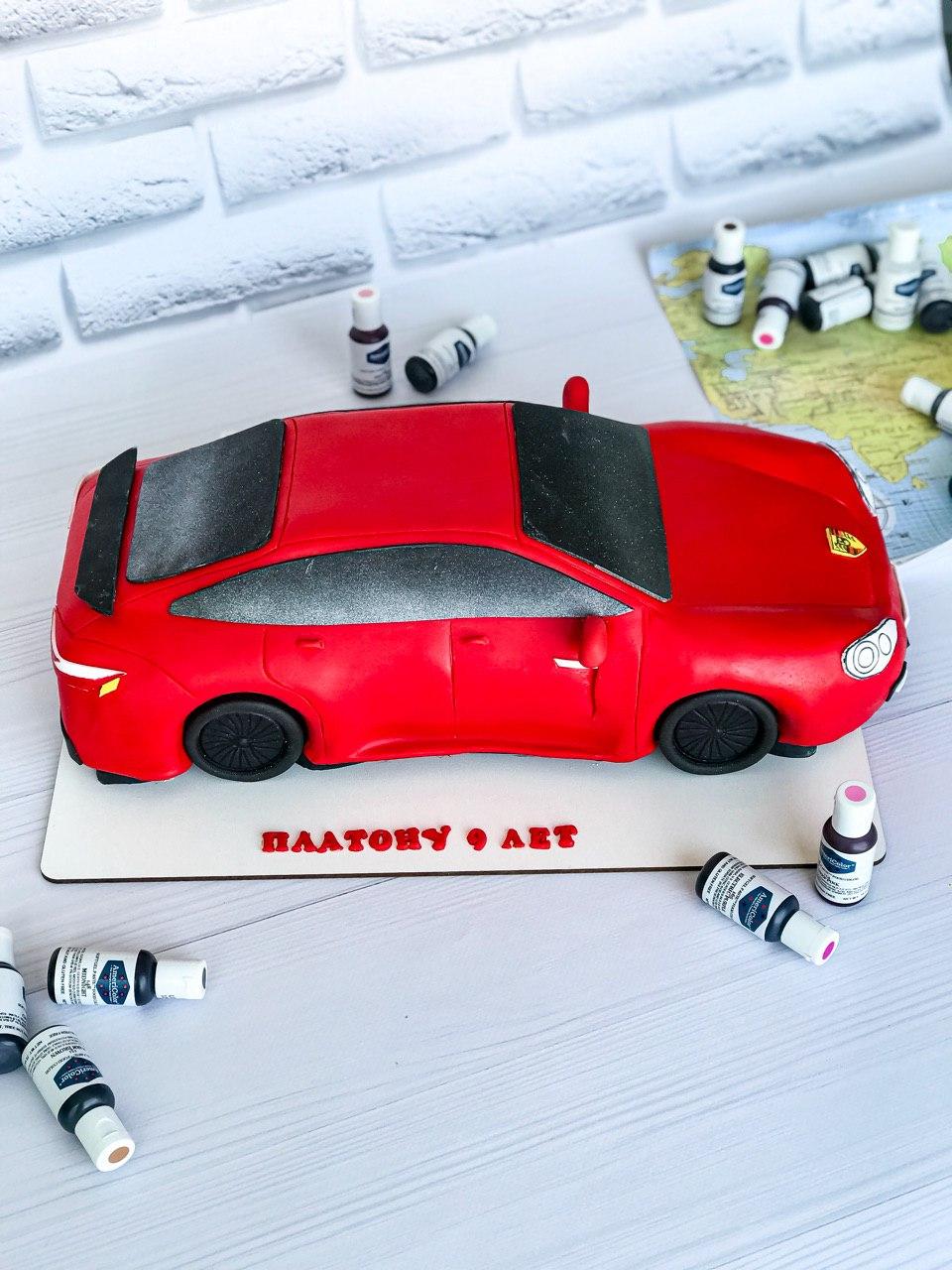 Торт Феррари 3 - фото