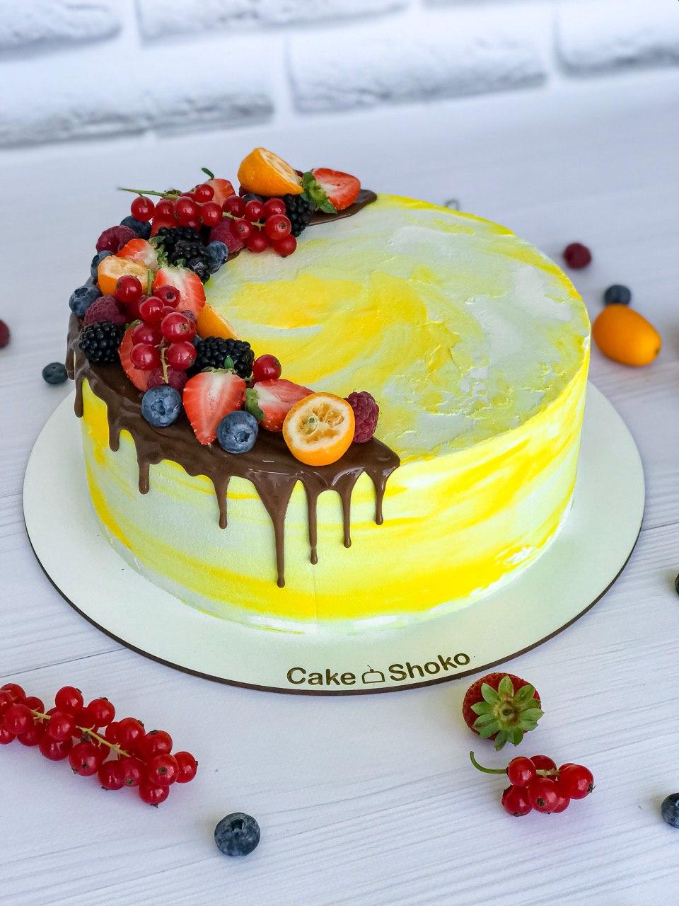Торт Солнечный - фото