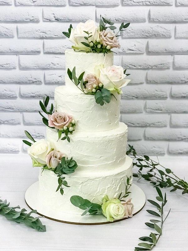 Торт Квітковий - фото