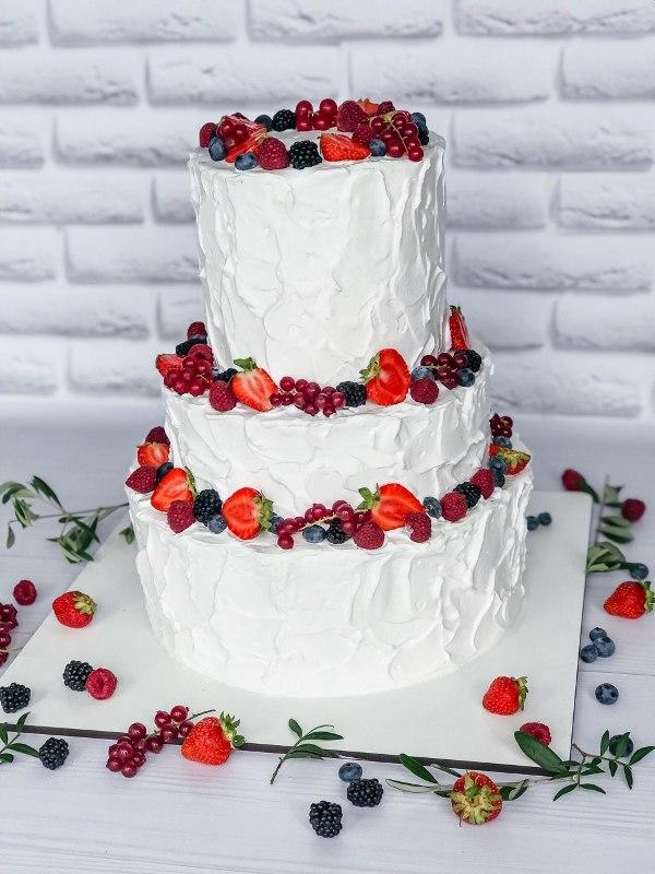 Торт Ягодный - фото