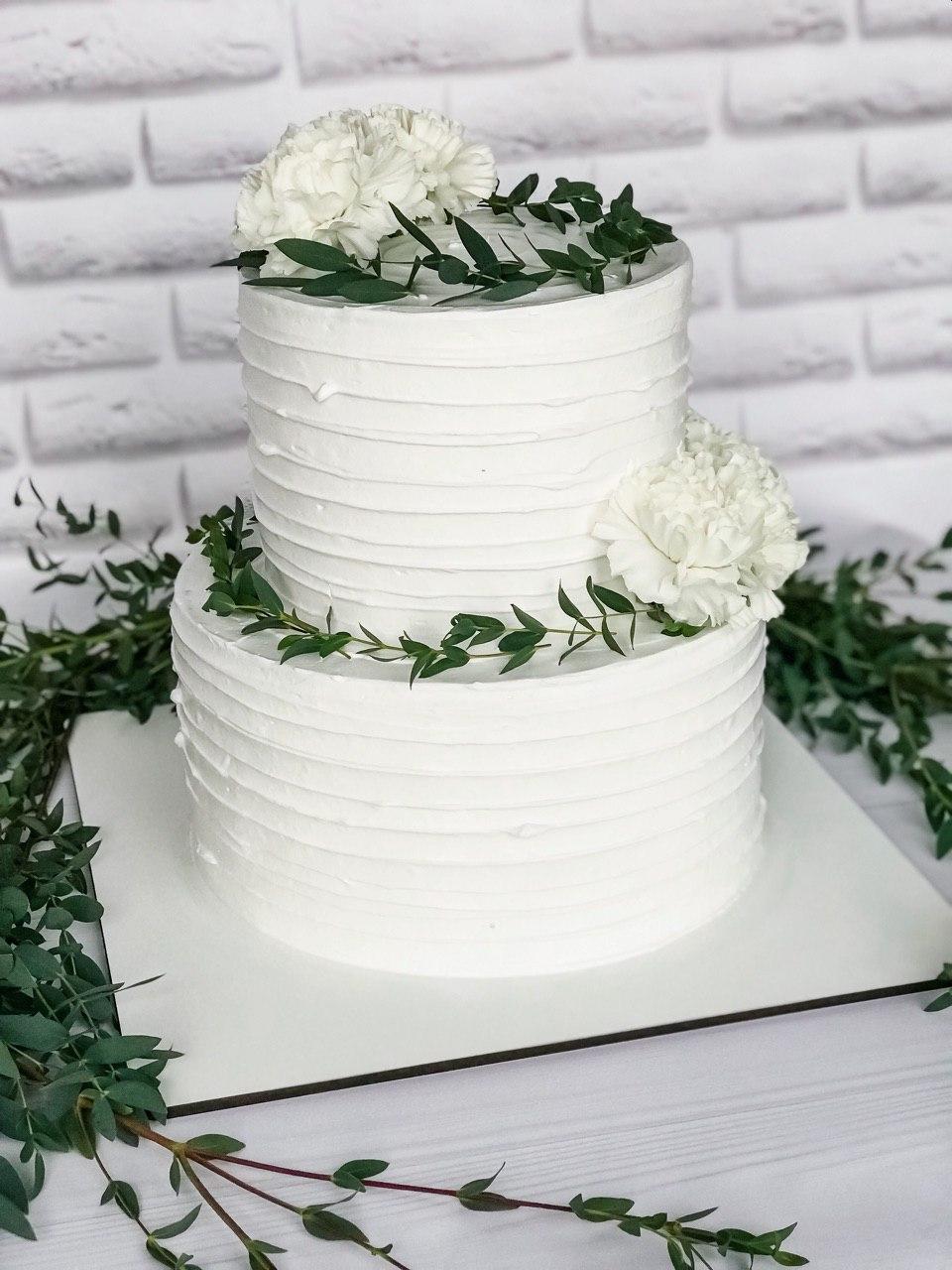 Торт Весільна ніжнісь - фото
