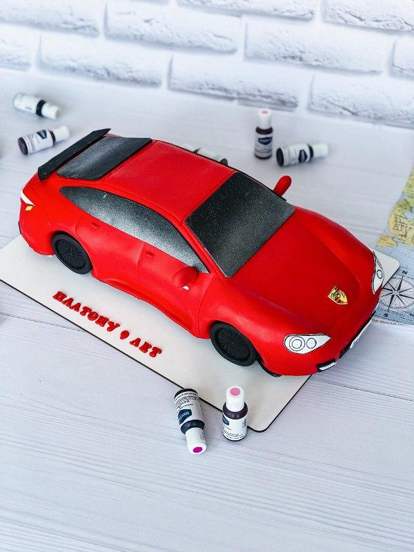 Торт Машина - фото