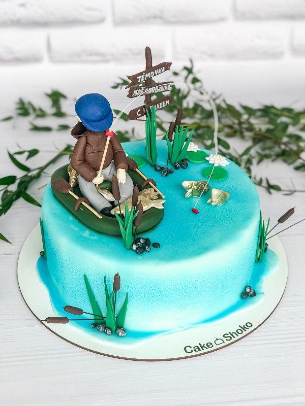Торт Рыбак 2 - фото