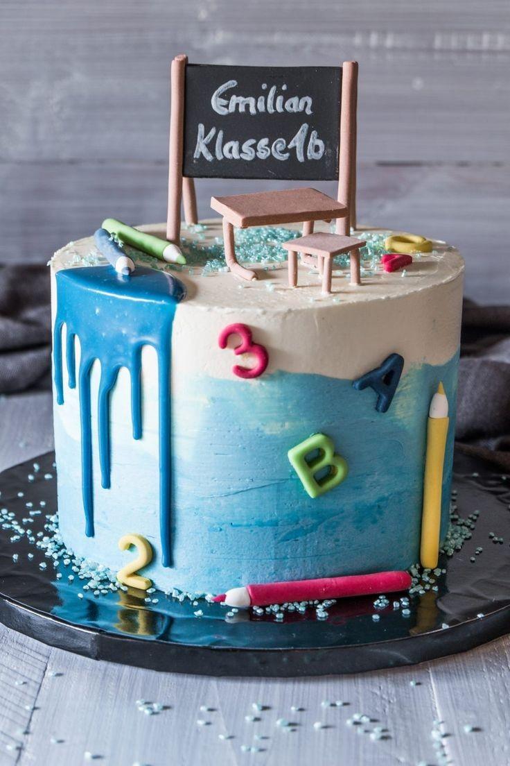 торт День Учителя 6 - фото