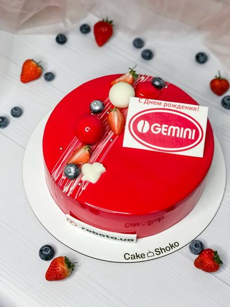 Торт Gemini - фото