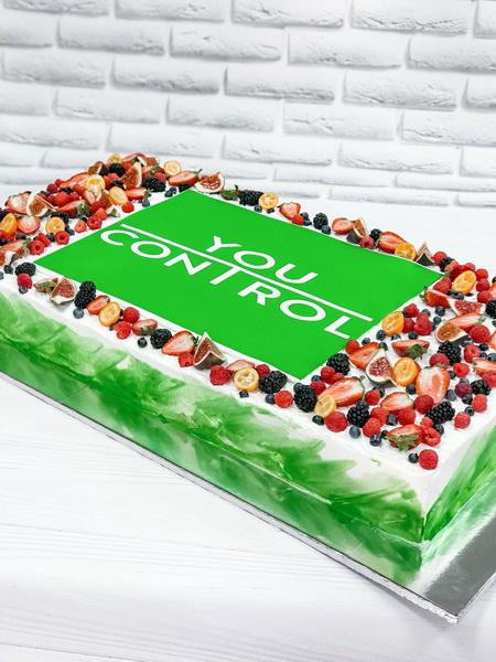 Торт  Ягідна свіжість - фото