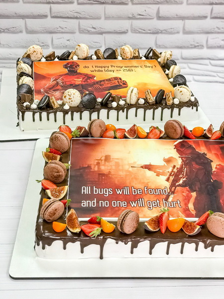 Торт для програмистов - фото